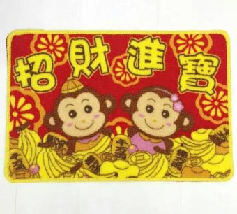 Chinese-style New Year holiday New Year Spring Festival Hall mats