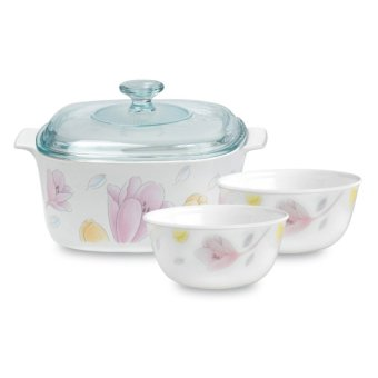 Corningware & Corelle 4pc Set