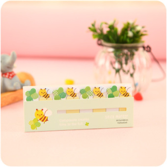 Cute removable self-stick notes sticky notes