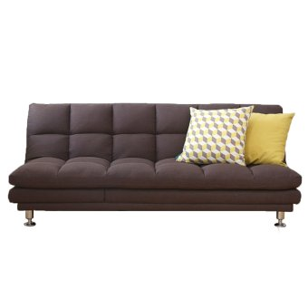 Dave Fabric Sofabed (Brown) (Free Delivery)