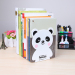 Deli stationery 95423 books rack for men and women students bookcase book clip book by book books bookends Book Board creative cartoon