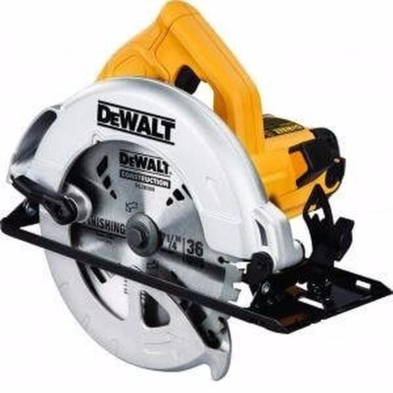 DeWalt Circular Saw 1,200W Power 184mm Wheel Diameter 5,500 RPM Rotating Speed