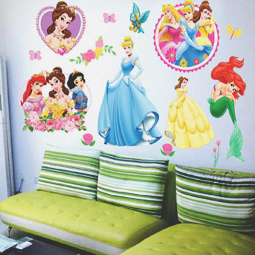 Disney princess wall sticker wall decal lazada singapore amipublicfo Image collections
