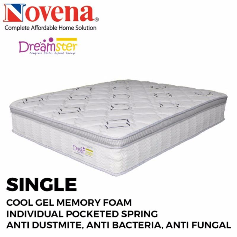 Dreamster Norwegian 6ft  Pocketed Spring Mattress With Memory Foam (Free Delivery)