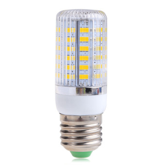 Harga E27 12W 56SMD 5730 5630 LED Spot Light Corn Lamp Bulb Warm WhiteAC220V
