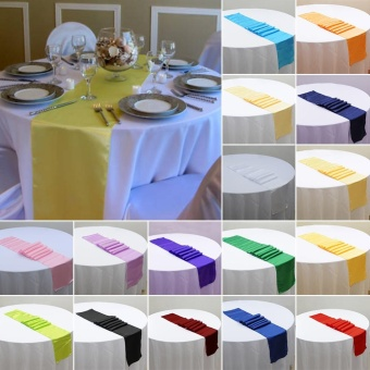 Simple elegant banquet wedding table cloth runner christmas eachgo simple elegant banquet wedding table cloth runner christmas cocktail party table decor cloth intl singapore junglespirit Image collections