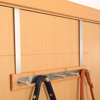 Harga Easy to age does not rust steel door on the long bamboo door afterHook