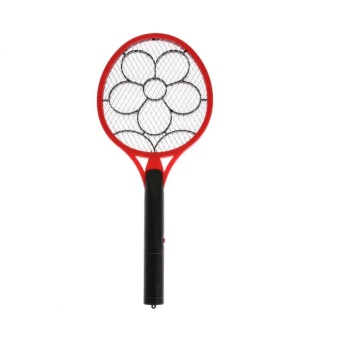 Electric Insect Pest Fly Mosquito Swatter Killer (Red) - intl