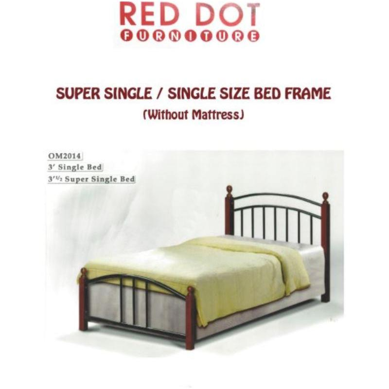 Elegant Bed Frame Super Single (Bronze)