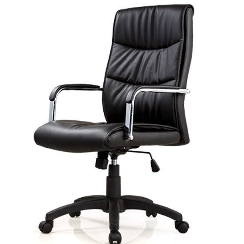 Elegant Office chair Pu leather J57 ,Delivery-weekdays before 6pm Singapore