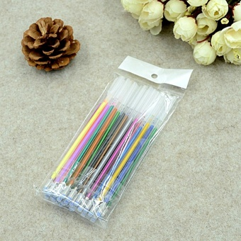 Elife 48 Colors Gel Pens Glitter Coloring Drawing Painting Craft Markers Stationery 0.8mm - intl - 3