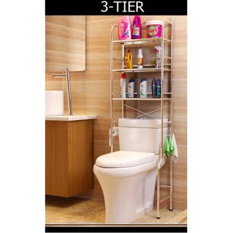 ENG- 2 Tier /3 Tier stainless steel toilet rack/Space saving/Anti-rust