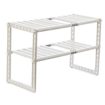 Extendable Kitchen Organizer Rack