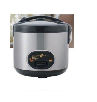 Harga FARFALLA FRC-845S 1.2L ELECTRIC RICE COOKER S/S BLACK