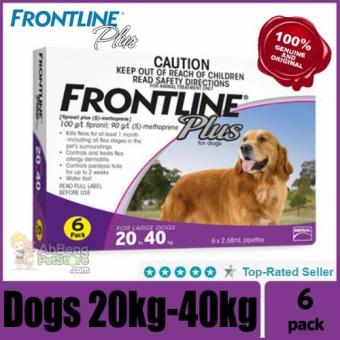 Frontline Plus (Dogs 20-40kg) 6 dose