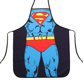 Funny Cooking Kitchen Apron Superman