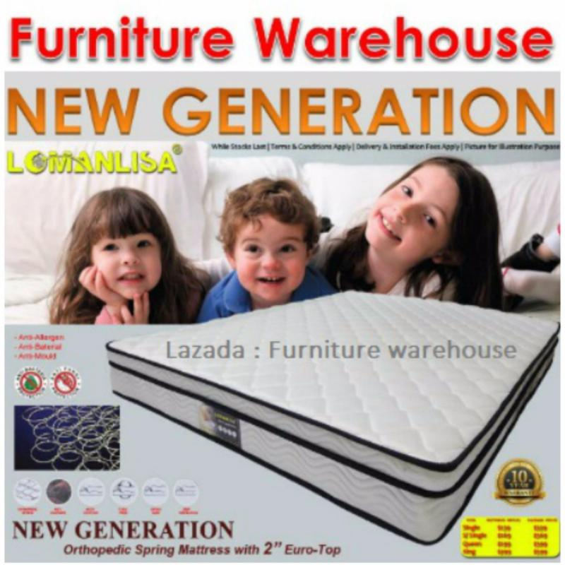 FW New Generation 9 Spring Mattress (Super Single)