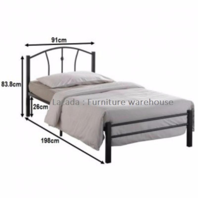FW114 Single Metal Bed