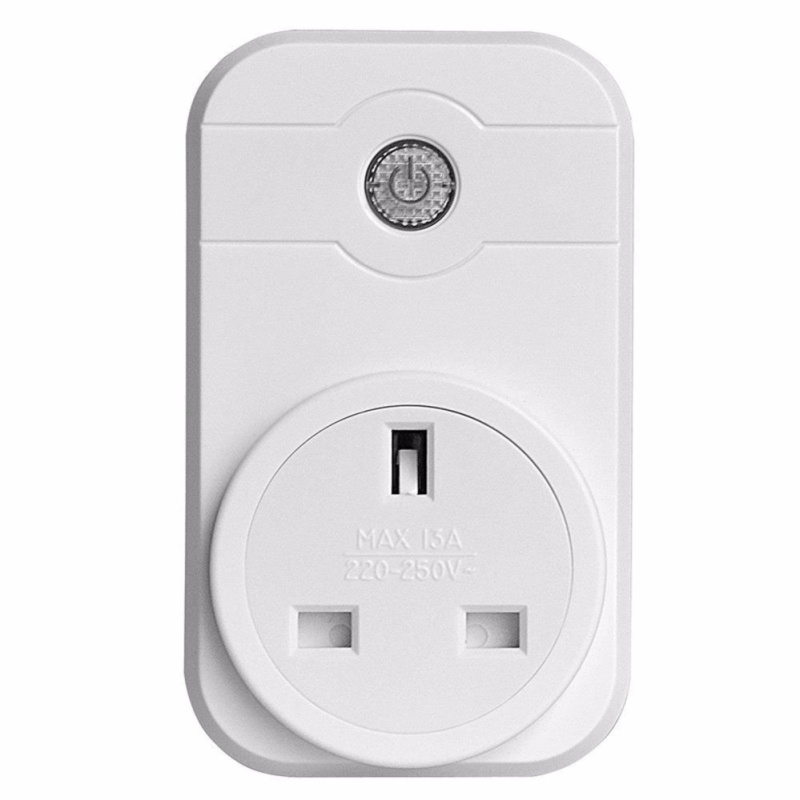 Geekbes Wifi Smart Plug Works with Amazon Alexa Control Devices from Anywhere Wireless Switch with APP White - intl