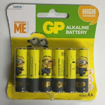 Harga GP AA X12 Despicable ME Battery