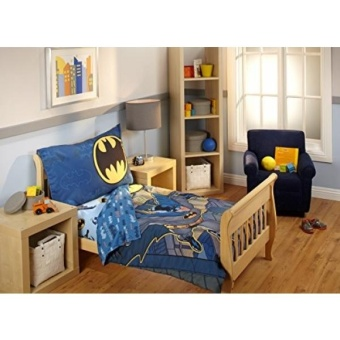 GPL/ Batman 4 Piece Toddler Bedding Set/ship from USA - intl