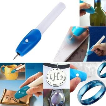Hot Sale Mini Engraving Pen Electric Carving Pen Machine GraverTool Engraver Steel Jewellery Engraver Pen Kit ASLT - intl - 3