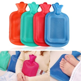 HOT THICK Rubber HOT WATER BOTTLE BAG WARM Relaxing Heat Cold Therapy - intl