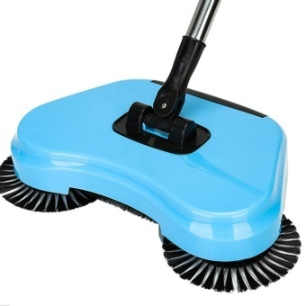 Household Must Spin Hand Push Broom Household Floor Dust CleaningSweeper Mop No Electricity - intl