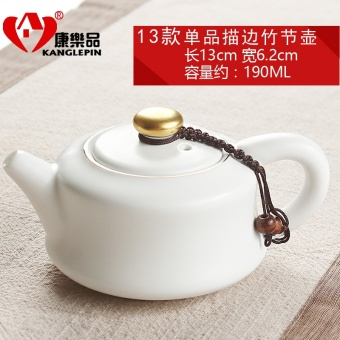 Harga Leisure ceramic teapot single pot tea boutique porcelain small teapot filter Cool office travel portable Kung Fu tea