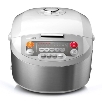 Harga PHILIPS FUZZY LOGIC RICE COOKER (1.8 L) HD3038