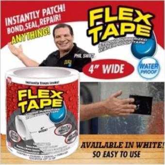Harga FLEX TAPE - STRONG RUBBERIZED WATERPROOF TAPE * GRIP ON TIGHT * SUPER STRONG * INSTANT (BEIGE WHITE)