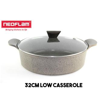 Neoflam 3Dot Marble Series 32cm Low Casserole
