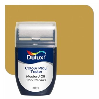 Harga Dulux Colour Play Tester Mustard Oil 37YY 39/443