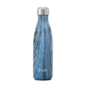 Harga S'well Water Bottle 17 OZ (500mL) Hand Painted Wood Collection Insulated Thermal Bottle – Dark Forest