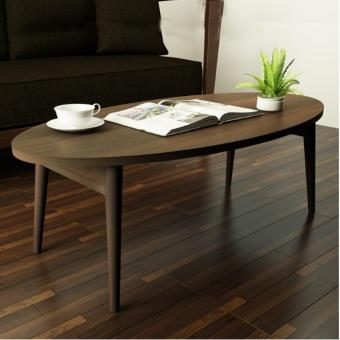 Harga Japanese Foldable Oval Coffee Table