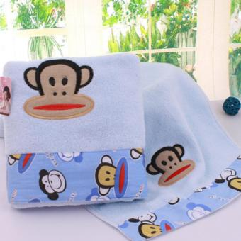 BUY 3 GET 1 FREE!! Microfiber Towel durable lint-free high water absorption Big Mouth Monkey towel (Body) - Three colors options