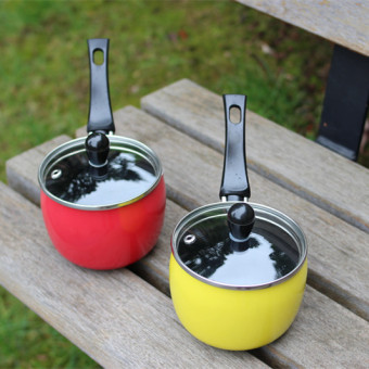 Harga Foreign trade alone. belly saucepan with lid nonstick skillet hot pot milk pot, tea pot, rice cereal, coffee pot.