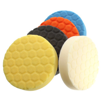 Harga 5pc New 6 inch Hex-Logic Polishing Pad kit For Car Polisher --select set - Intl
