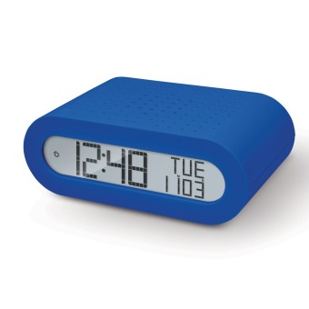 Harga Oregon Scientific Classic Alarm Clock with FM Radio RRM116 (Blue with UK Plug)