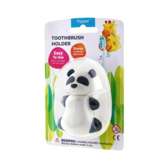 Harga Flipper Toothbrush Holder (Fun Animal - Panda)