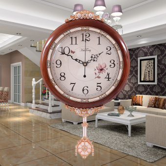 Harga Shanghai Tang European living room wall clock