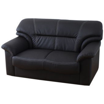 Harga Andre Sofa-2P (Black) (Free Delivery)