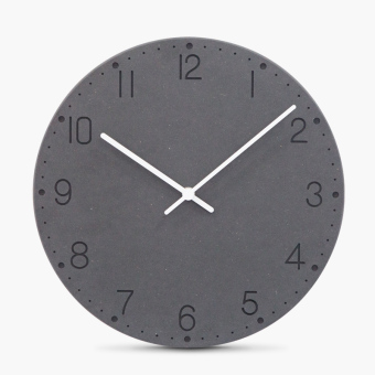 Mandelda clocks fashion creative modern minimalist living room bedroom wall clock mute quartz wall clock wooden clock