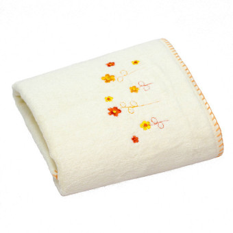 Harga Kenko Exquisite - Bamboo Cotton Bath Towel - Beth (Yellow)