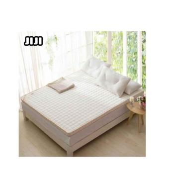Harga JIJI【SIZE: KING】Mattress Topper/Cover 6A Polygon MEMORY FOAM【CREAMY WHITE】 Size : 180 X 200CM【KING】(King One size)