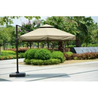 Harga 3x3m Side Post Cantilever Outdoor Umbrella Model XLMA002