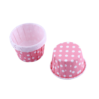 Harga 100pcs Paper Cake Cupcake Liner Case Wrapper Muffin Baking Cup for Party Baking Cup Pink - intl