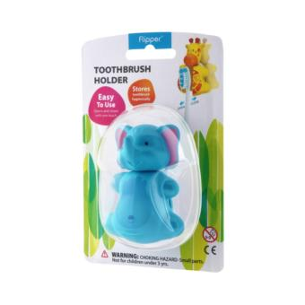 Harga Flipper Toothbrush Holder (Fun Animal - Elephant)