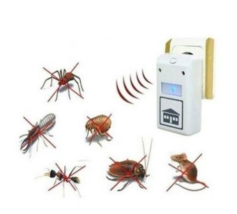 Harga Digital Pest Insect Spiders Repellent Ultrasonic Repeller Rodent Control Reject - intl