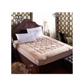 Harga JIJI【SIZE: KING】Mattress Topper/Cover 1C Flowery【KHAKI】 Size : 180 X 200CM【KING】